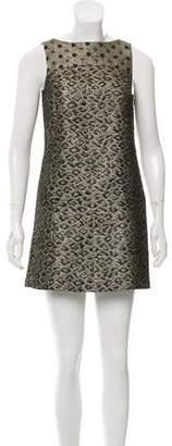 Tibi Metallic Shift Dress