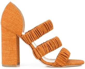 Chloé Gosselin elasticated strap sandals