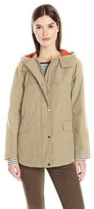 Jones New York Women's Cotton Bonded Water Repellent Jacket