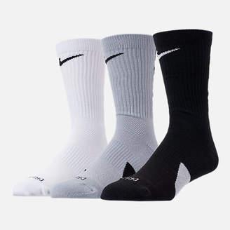 Nike Unisex Elite 3-Pack Crew Basketball Socks