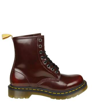 Dr. Martens Anfibio In Synthetic Leather Color Bordeaux
