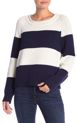 Frame Bold Striped Sweater