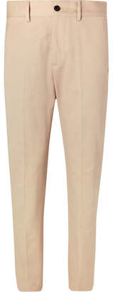 Burberry Cotton-Twill Chinos - Stone
