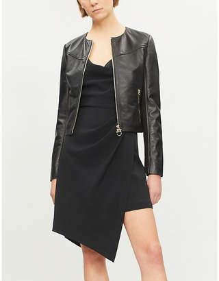 Pinko Irroratrice leather jacket