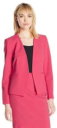 Nine West Women's Stretch Kiss Front Jacket