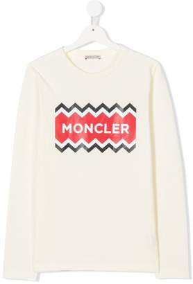 Moncler TEEN logo T-shirt