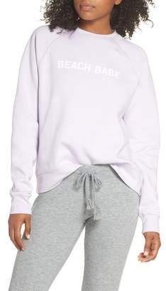 BRUNETTE the Label Beach Babe Middle Sister Crewneck Sweatshirt