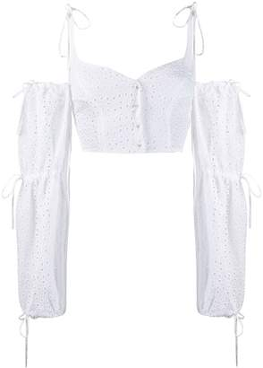 Daizy Shely broderie anglaise blouse