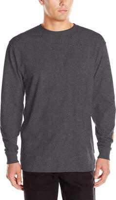 Carhartt Men's Signature Sleeve Logo Long Sleeve T Shirt Original Fit