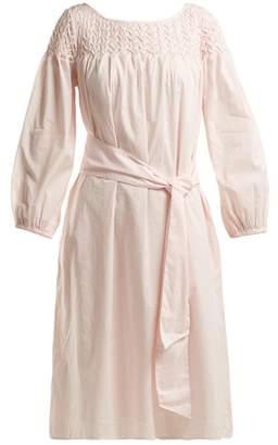 Merlette - Bonaire Belted Smock Dress - Womens - Light Pink