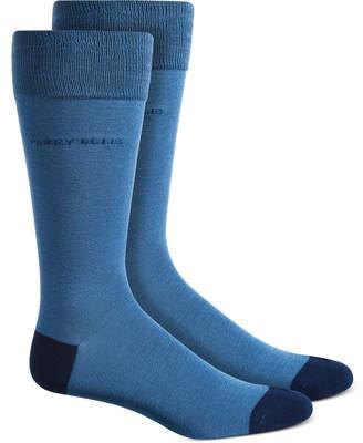 Perry Ellis Men Logo Socks