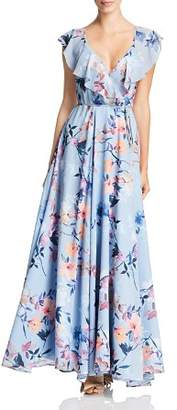 Yumi Kim Full Bloom Wrap Maxi Dress