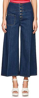 Marc Jacobs Women's Wide Crop Jeans