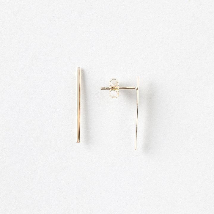 Steven Alan JERRY GRANT 14k gold long stick studs