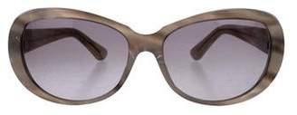 Cartier C-Decor Marbled Sunglasses