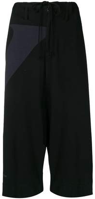 Y's drawstring cropped trousers