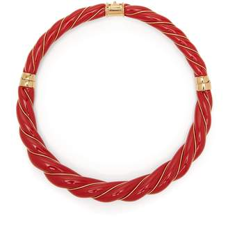 Aurelie Bidermann Diana enamel necklace