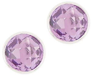 QVC Semi-Precious Gemstone Stud Earrings, SterlingSilver