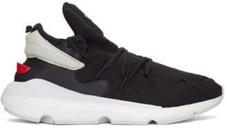 Y-3 Y 3 Black Kusari II Sneakers