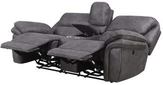 Alcott Hill Cannaday Reclining Loveseat Recliner Mechanism: Manual Recline