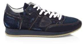 Philippe Model Tropez Denim Runners