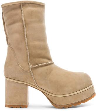 R 13 Sheep Shearling Boots
