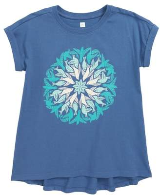 Tea Collection Seaside Mandala Cuffed Tee