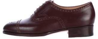 John Lobb Cap-Toe Brogue Oxfords w/ Tags