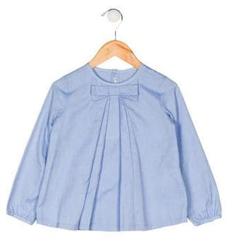 Mayoral Girls' Bow-Accented Top w/ Tags