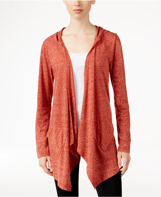 Style & Co. Hooded Draped Knit Jacket, Only at Macy's $49.50 thestylecure.com