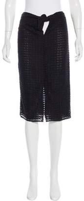 Jenni Kayne Diamond Knee-Length Skirt