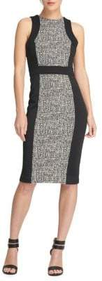 DKNY Paneled Sheath Dress