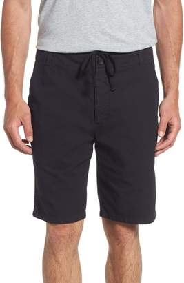 James Perse Relaxed Fit Utility Shorts