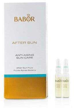 Babor NEW Anti-Aging Sun Care After Sun Fluid 7x2ml Womens Skin Care