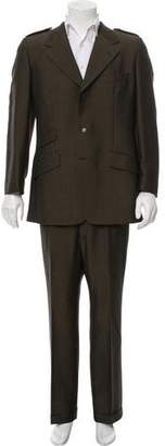 Gucci Mohair-Blend Three-Button Suit