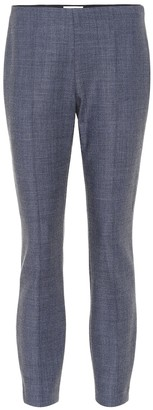 The Row Cosso wool-blend skinny pants