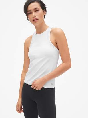 Gap GapFit Spliced Mesh Shelf Tank Top