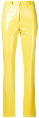 Alberta Ferretti (アルベルタ フェレッティ) - Alberta Ferretti skinny vinyl pants
