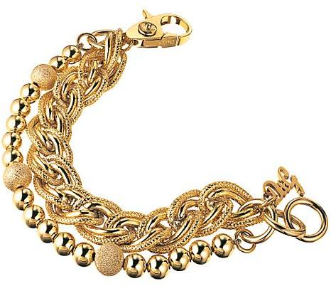 D&G Dolce & Gabbana Vintage Rope Chain Bracelet, Gold