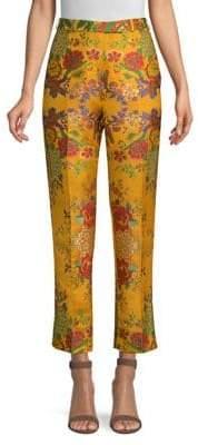 Etro Floral Jacquard Pants