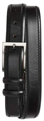 Torino Belts Embossed Leather Belt