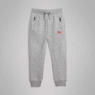 Burberry Childrens Drawcord Cotton Sweatpants