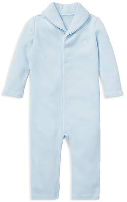 Polo Ralph Lauren Ralph Lauren Boys' French-Rib Cotton Coverall - Baby