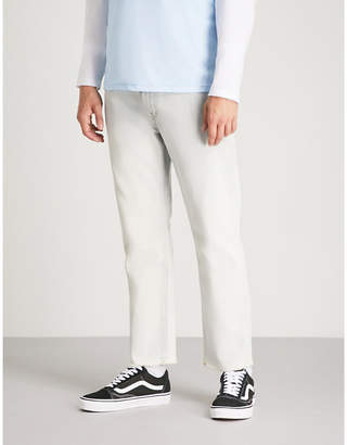 Obey New Threat slim-fit straight jeans