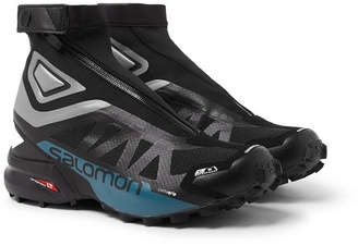 Salomon Snowcross 2 Cswp Mesh And Neoprene Boots - Black