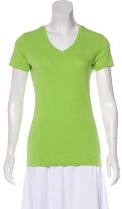 Calvin Klein Short Sleeve V-Neck Top