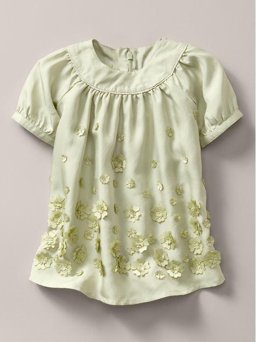 Stella McCartney flower applique dress