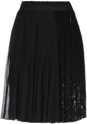 Cruciani Knee length skirts