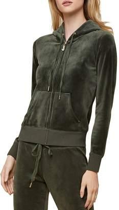 3f2c0e0bc2e0 Juicy Couture Black Label Robertson Luxe Velour Hoodie