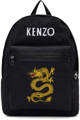 Kenzo Black Dragon Backpack